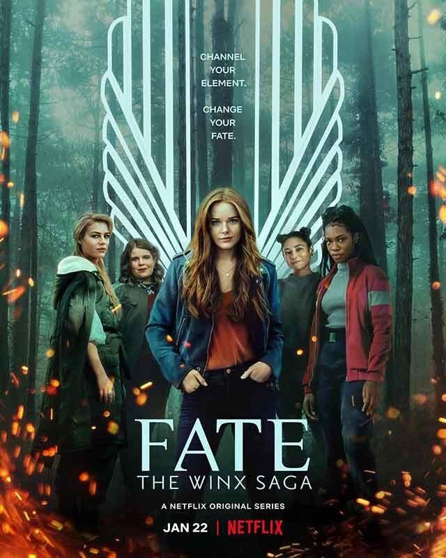 La locandina di Fate: The Winx Saga. Credits: Netflix