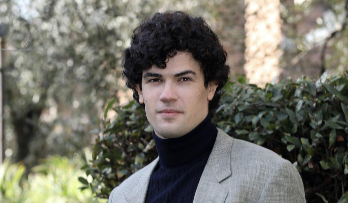 Giuseppe Spata (interpreta Riccardo) qui al Photocall De La Vita Promessa. Credits: Elisabetta A. Villa/Getty Images