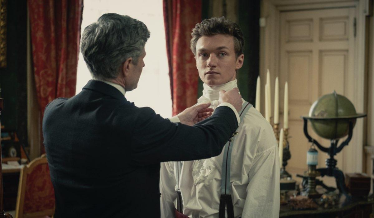 Harrison Osterfield (Harrison) in Gli Irregolari di Baker Street. Credits: Matt Squire/Netflix.