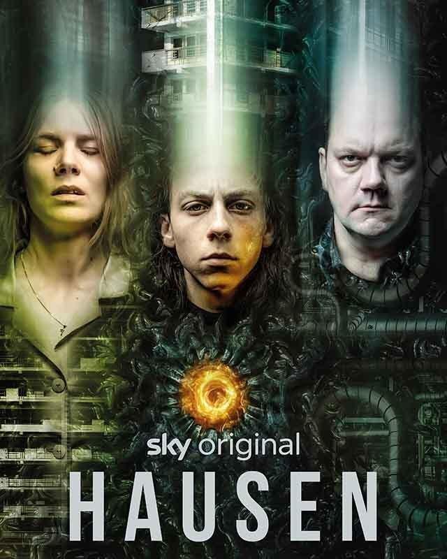 La locandina di Hausen. Credits: Sky Studios.