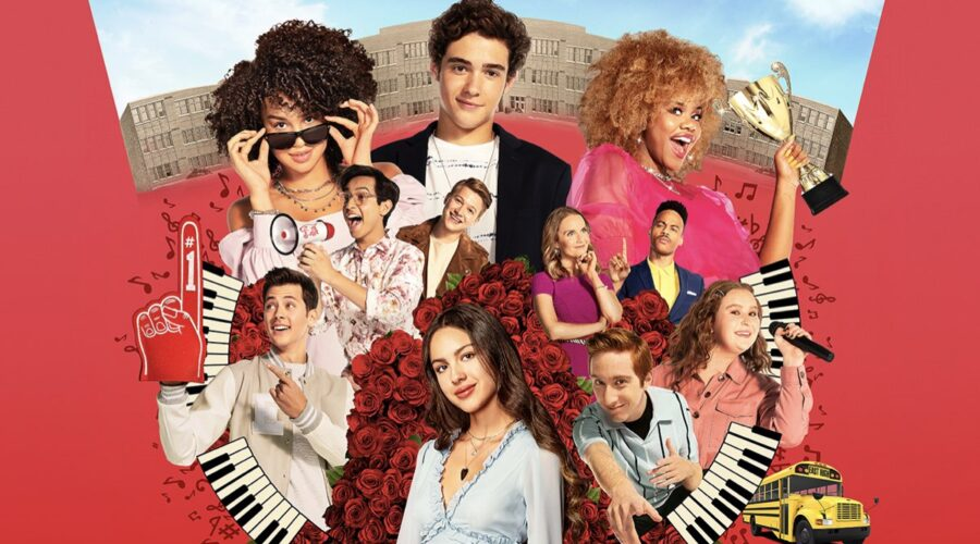 Poster della seconda stagione di High School Musical: The Musical: La Serie. Credits: Disney Plus.