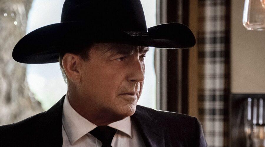 Kevin Costner Interpreta John Dutton In Yellowstone 3 Stagione. Credits: Sky Italia