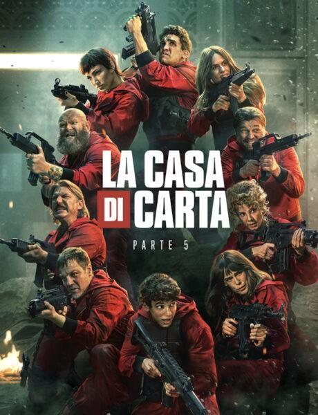 Poster de La Casa Di Carta. Credits: Netflix.