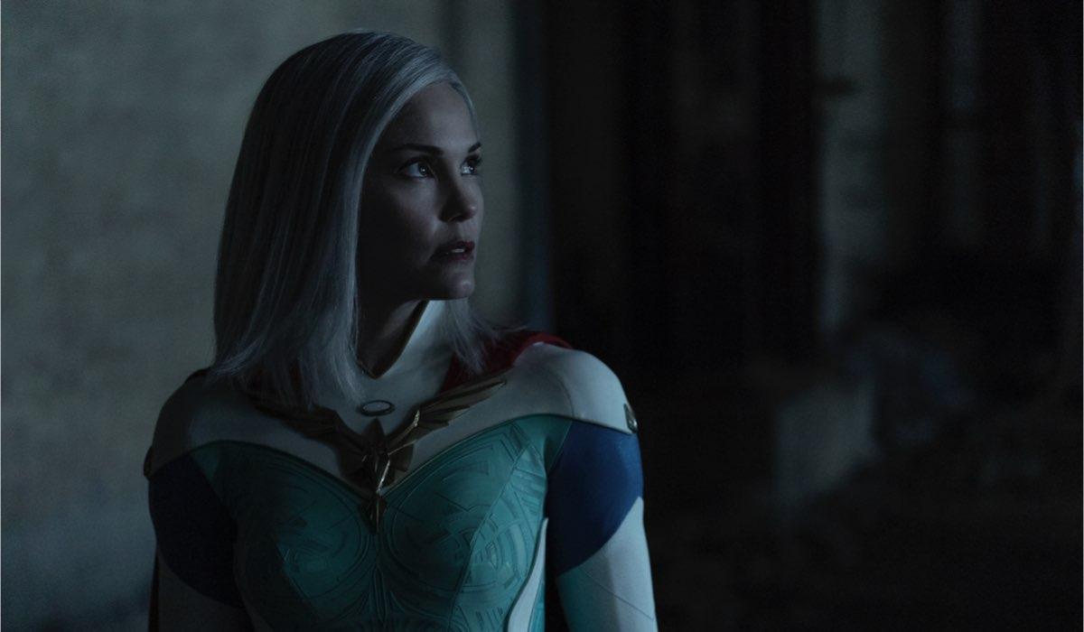 Leslie Bibb in Jupiter's Legacy. Credits: Netflix.