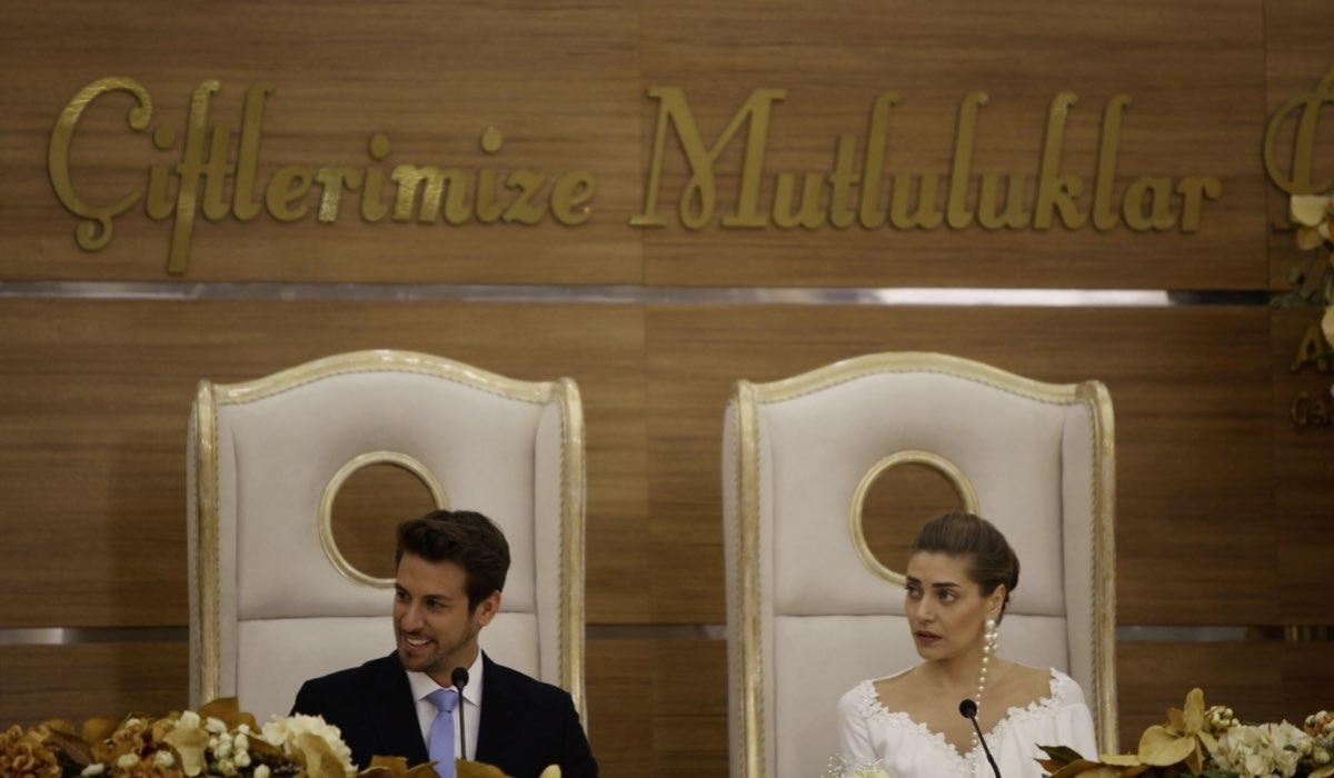 Leyla ed Emre si sposano In Daydreamer. Credits: Global Telif Haklari Yapimcilik Tic. A.S/Mediaset
