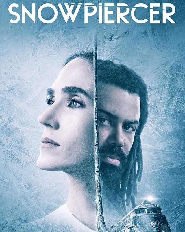 La locandina della serie TV Snowpiercer. Credits: Netflix/TNT.