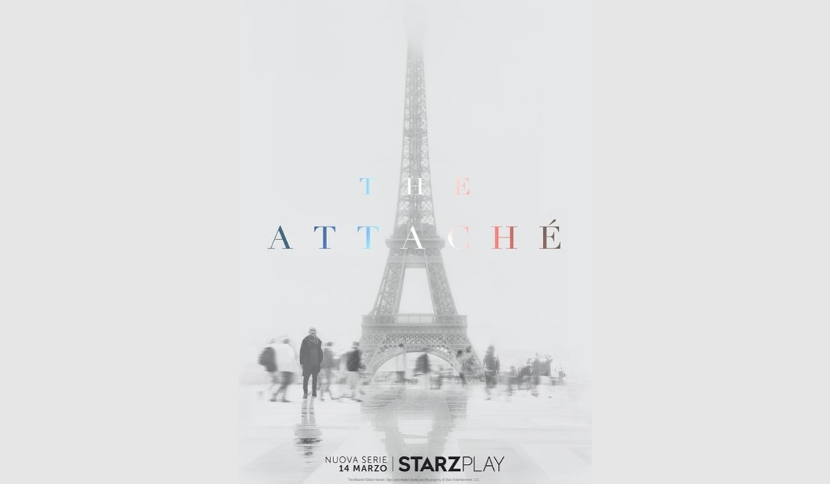 Locandina Ufficiale di The Attaché Credits: Starzplay