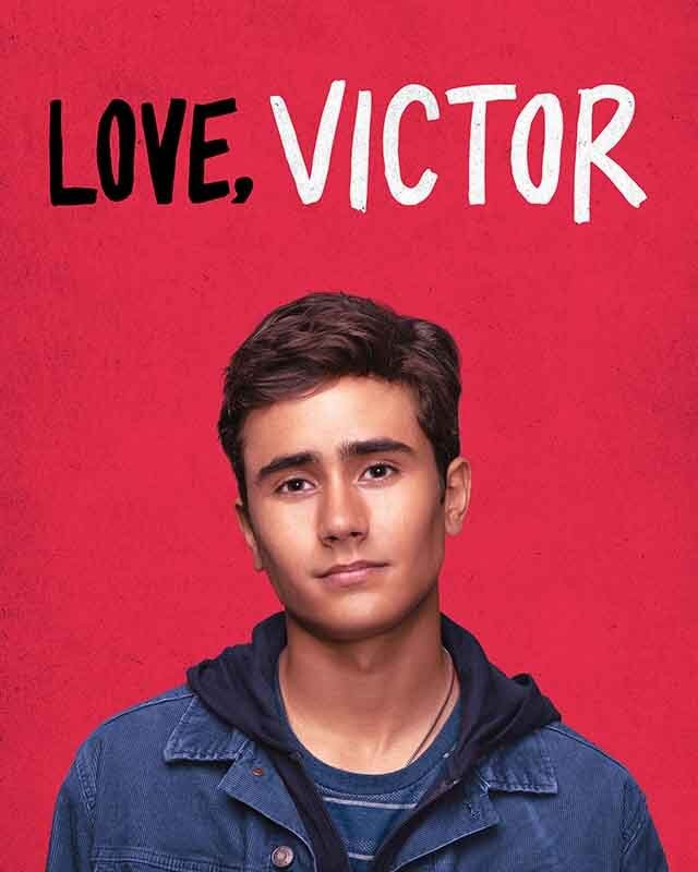 La locandina della serie TV Love, Victor. Credits: Disney+.
