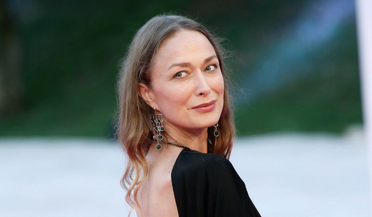 Magdalena Grochowska (interpreta Angelica) Al Roma Fiction Fest 2014. Credits: Elisabetta Villa/Getty Images