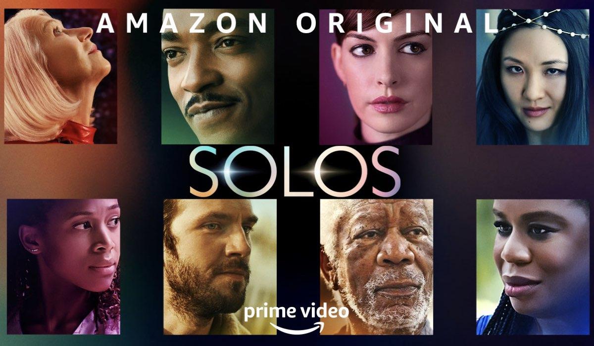 Poster Ufficiale Di Solos Serie Tv Credits: Amazon Prime Video