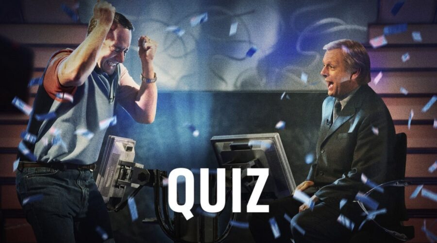 Immagine da Quiz, la serie Timvision © 2020 Sony Pictures Connect Inc. All Rights Reserved.