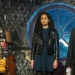 Sarah Jeffery, Madeleine Mantock E Melonie Diaz In Una Scena Di Charmed 3. Credits: Rai 4