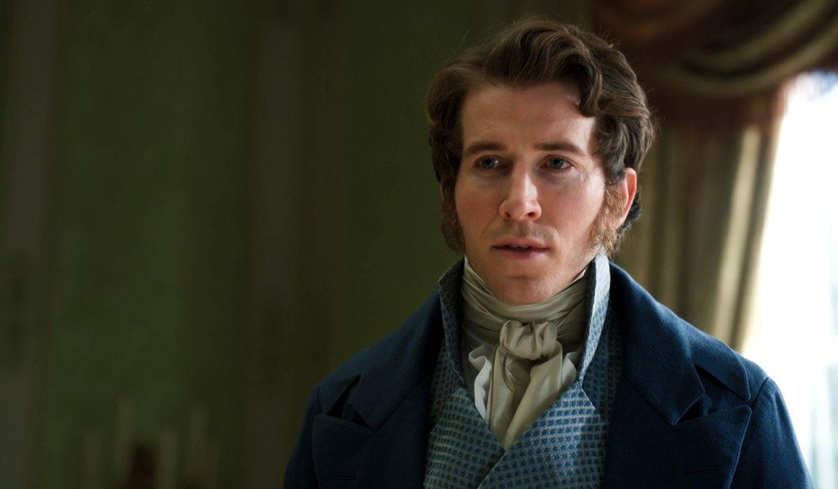 Chris Fulton è Sir Phillip Crane. Credits: Netflix.