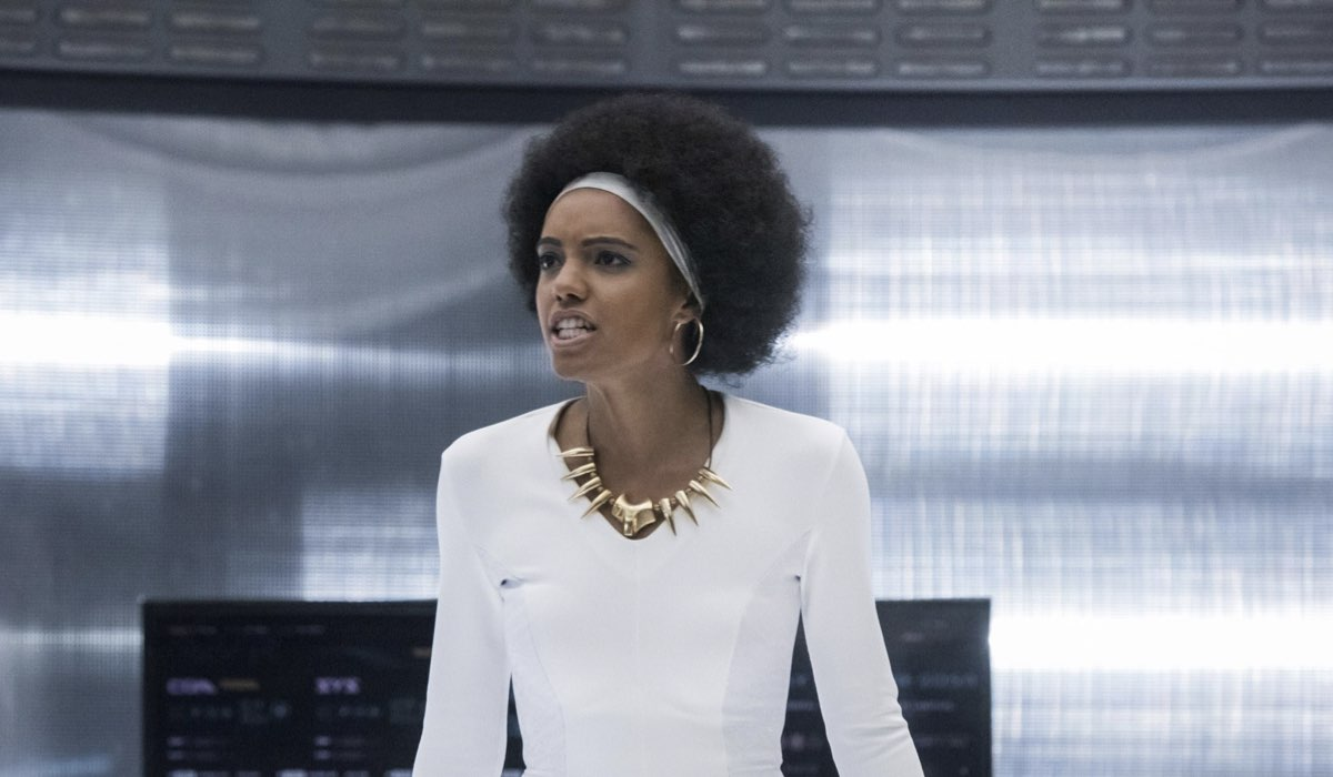 Una Scena Della Serie Tv Legends Of Tomorrow Credits The CW E Mediaset