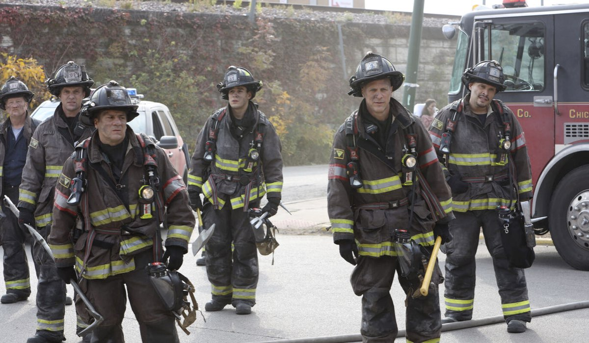 Una Scena Di Chicago Fire 9 Credits: Mediaset