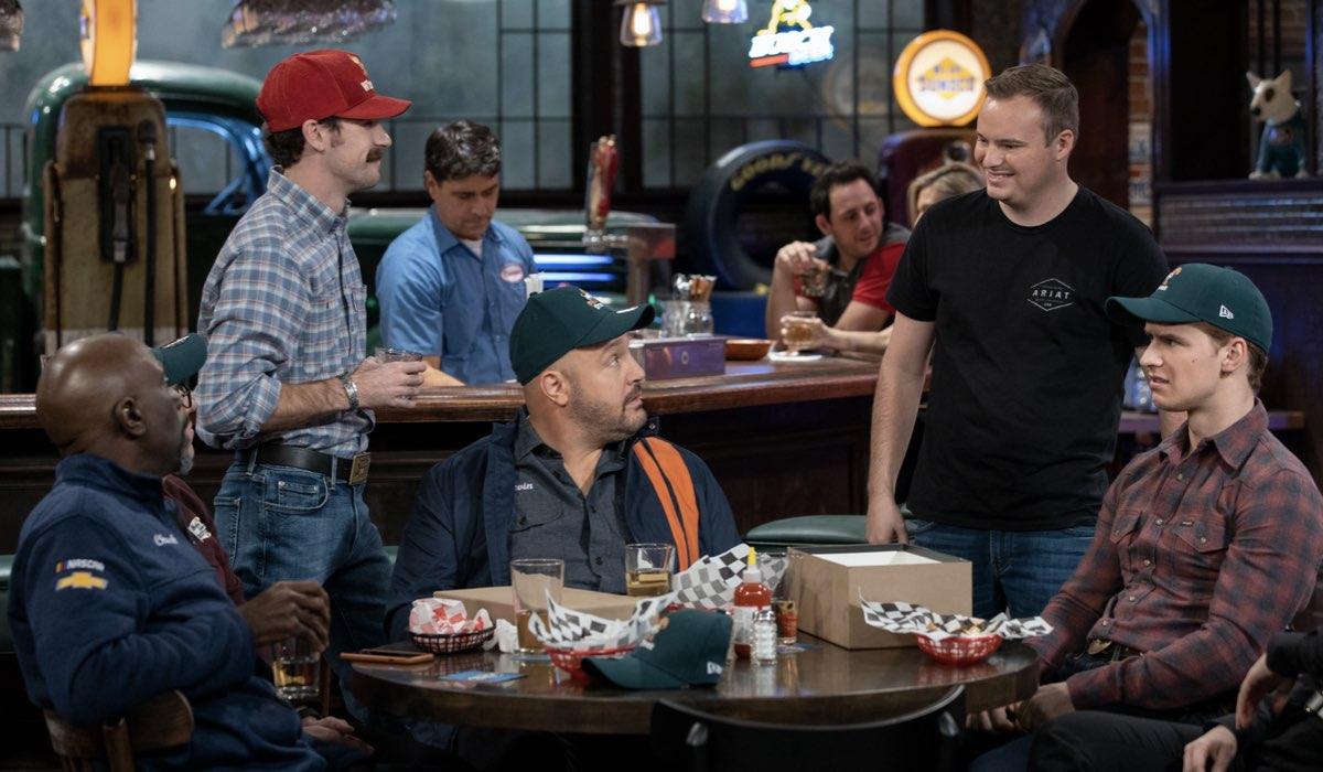Una Scena Di The Crew Serie TV. Credits: Eric Liebowitz/Netflix