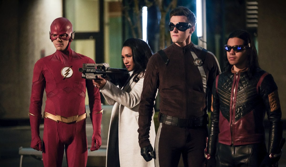 Una Scena Di The Flash Con Grant Gustin Nei Panni Di Barry Allen Credits Mediaset E The CW