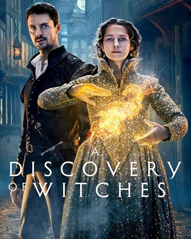 La locandina della serie TV A Discovery of Witches. Credits: Sky.