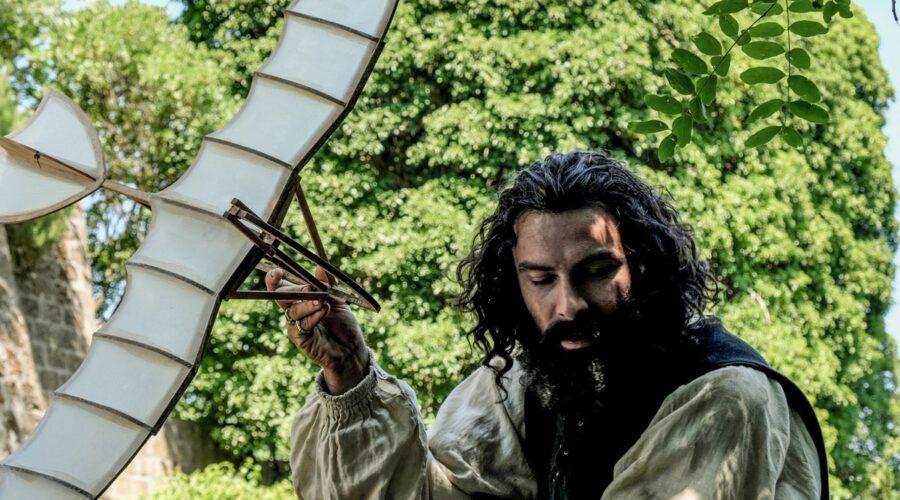 Aidan Turner (Leonardo Da Vinci) In Leonardo Serie Tv Credits: Fabio Lovino e Rai