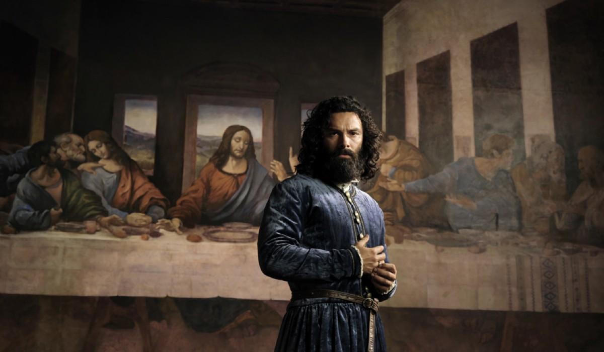 Aidan Turner Interpreta Leonardo Credits: Fabio Lovino/Rai