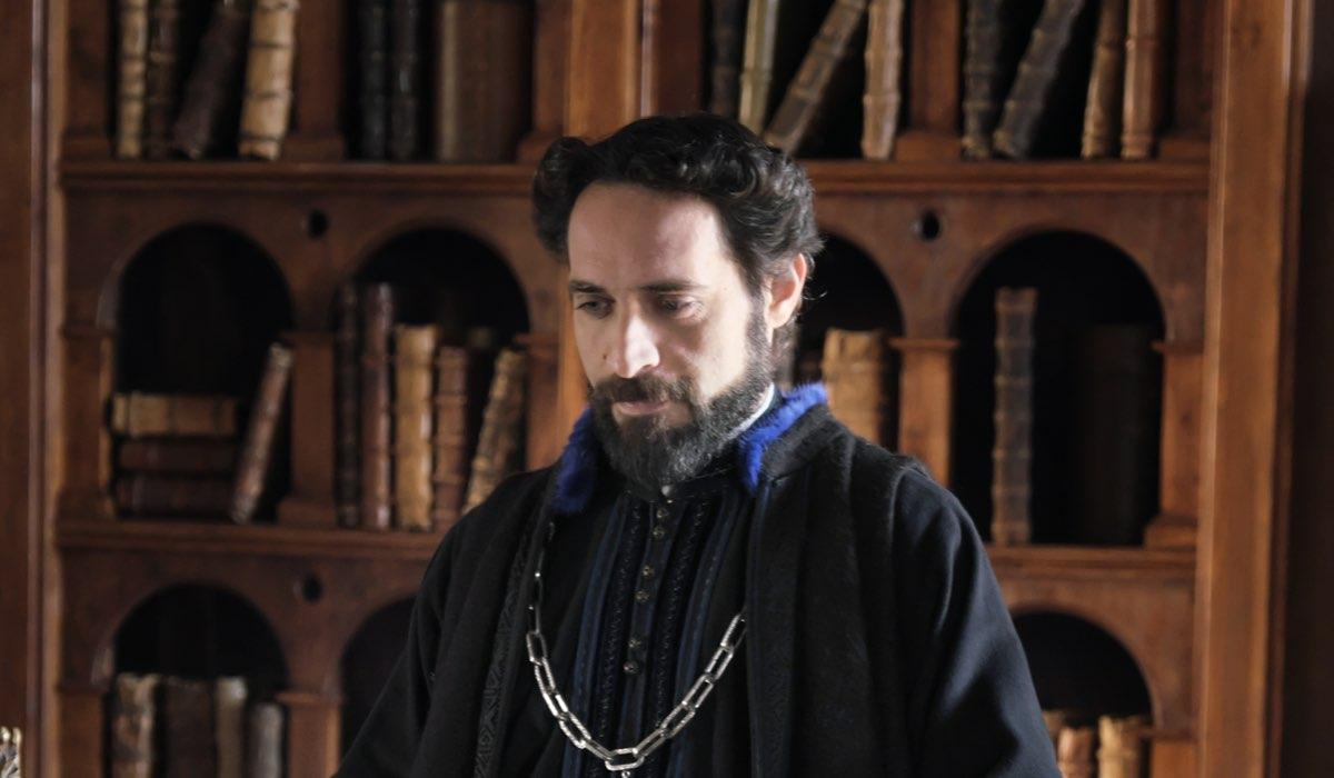 Antonio De Matteo (Galezzo Sanseverino) In Leonardo Credits: Fabio Lovino e Rai