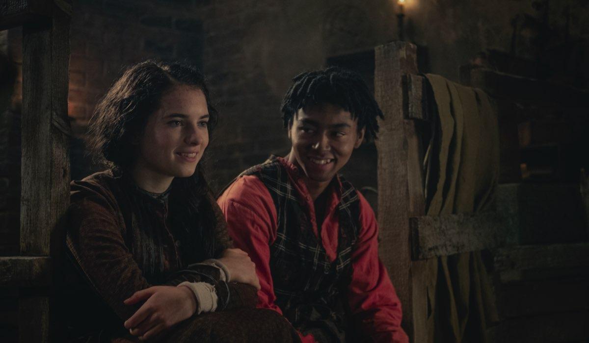 Darci Shaw (Jess) E Mckell David (Spike) ne Gli Irregolari Di Baker Street Credits: Matt Squire E Netflix