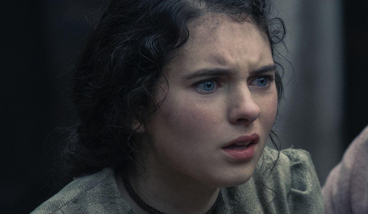 Darci Shaw (Jessie) Gli Irregolari Di Baker Street Credits: Matt Squire/Netflix
