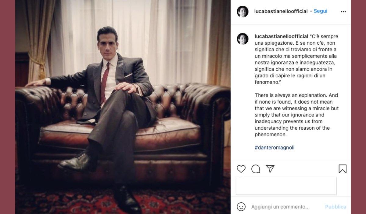 Foto E Didascalia Pubblicata Da Luca Bastianello Il 3 Marzo 2021 Sul Suo Profilo Instagram Nei Panni Di Dante Romagnoli Ne Il Paradiso Delle Signore 5