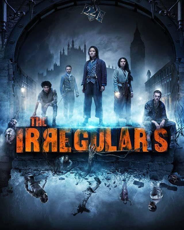 La locandina della serie Gli Irregolari di Baker Street. Credits: Netflix.