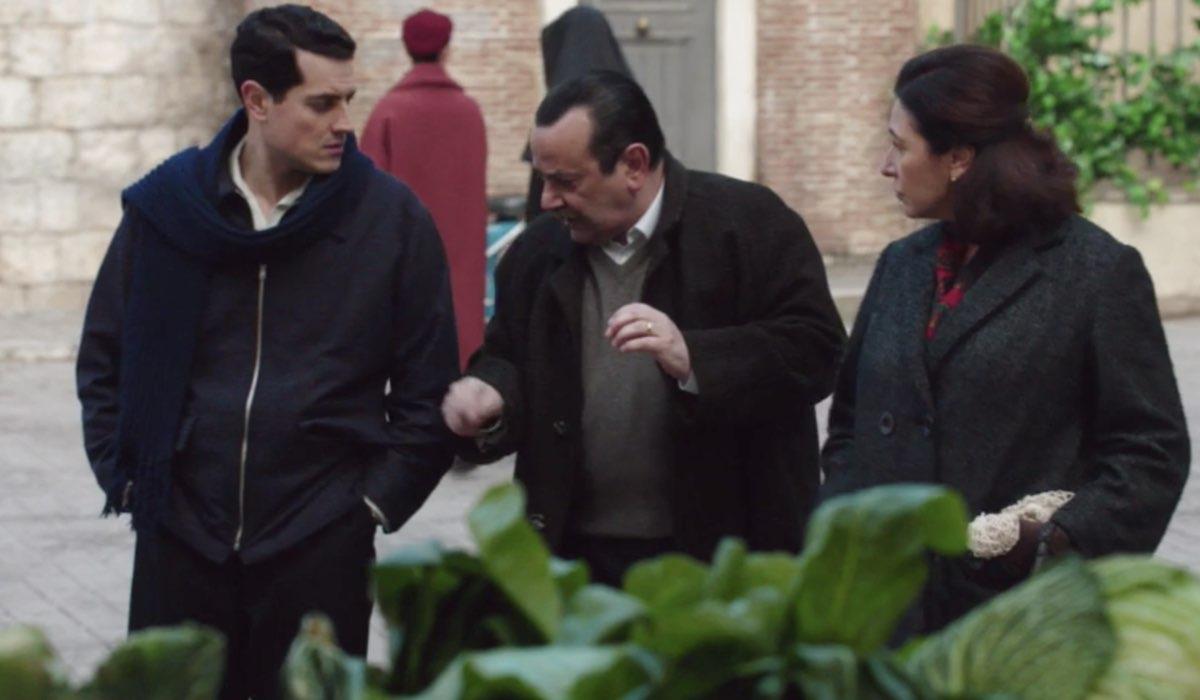 Il Paradiso Delle Signore 5 Puntata 116: Salvatore, Giuseppe e Agnese Amato Credits Rai