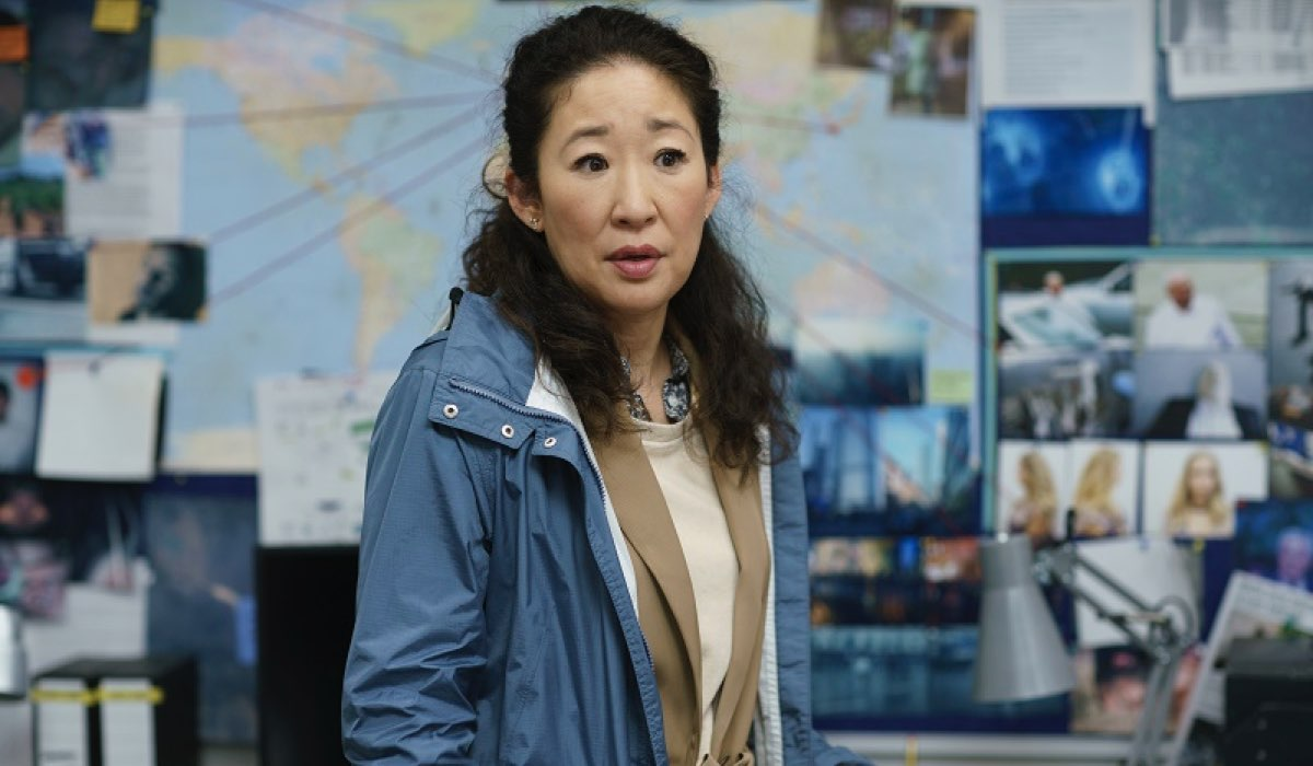Sandra Oh in Killing Eve. Credits: Timvision.