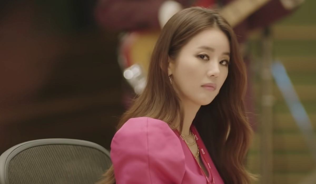 L'attrice Park Joo-mi In Una Scena Del Trailer Di Love (Ft. Marriage And Divorce). Credits: Netflix