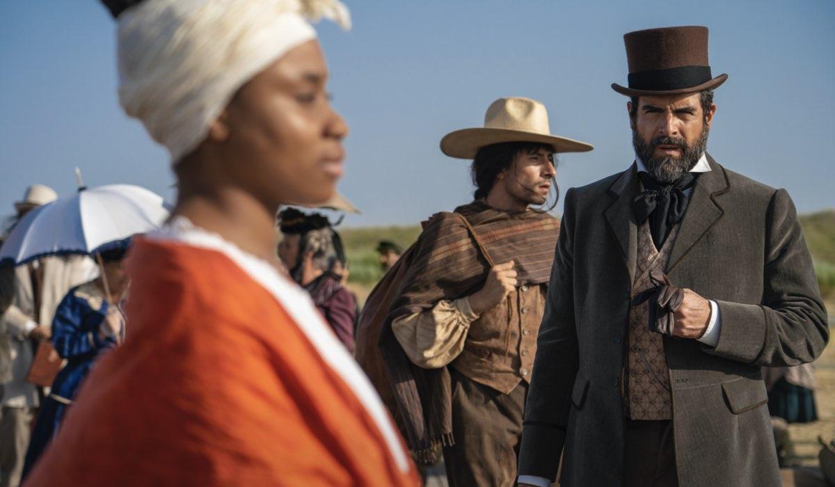 Rafael Novoa in una scena di La Templanza. Credits: Amazon Studios.