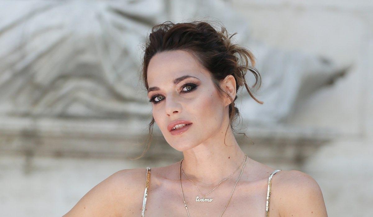 Laura Chiatti al Laura Biagiotti Fashion Show il 13 settembre 2020. Credits: Ernesto Ruscio/Getty Images