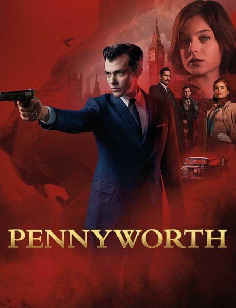 La locandina di Pennyworth. Credits: DC Comics/Warner Bros./Starz Play.
