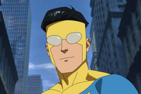 Mark Grayson in una scena di Invincible. Credits: Amazon Studios.
