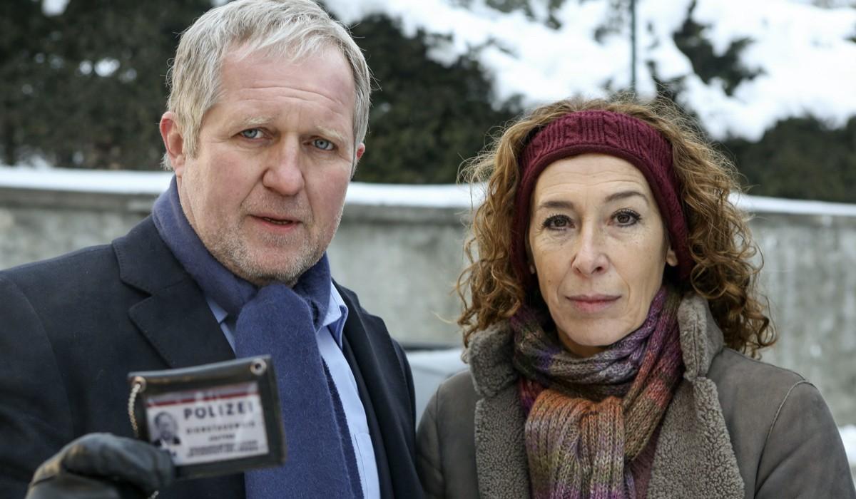 Moritz Eisner e Bibi Fellner in Tatort Scena Del Crimine. Credits: Giallo