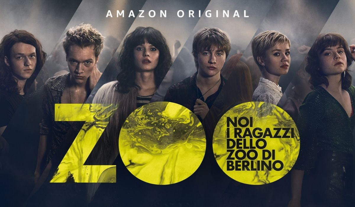 """Poster di """"Noi, ragazzi dello Zoo di Berlino"""". Credits: Prime Video."""