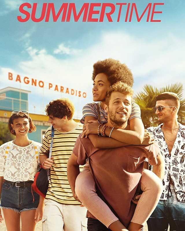 La locandina di Summertime. Credits: Netflix.