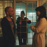 Eli Ben-David e Héloïse Godet in una scena di The Attaché. Credits: Abot Hameiri.