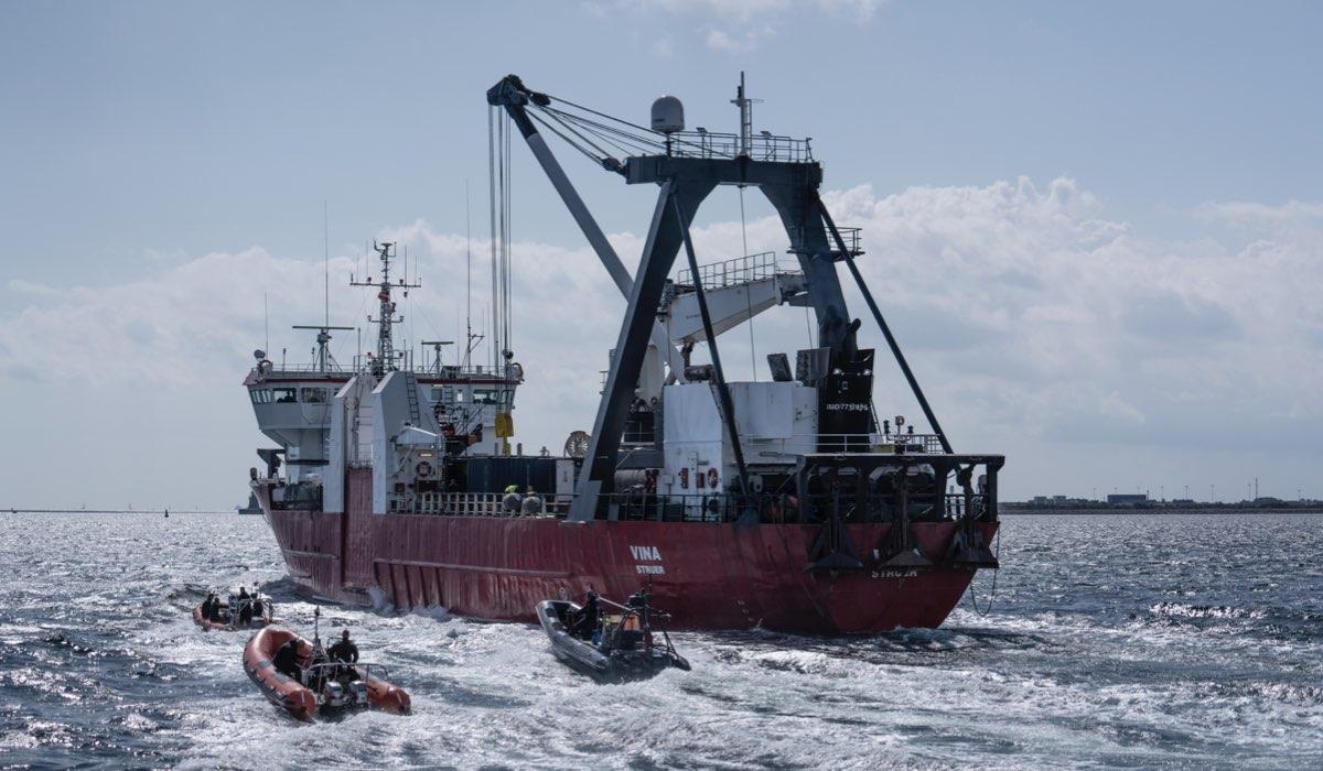 La nave al centro di The Investigation. Credits: Sky Italia.