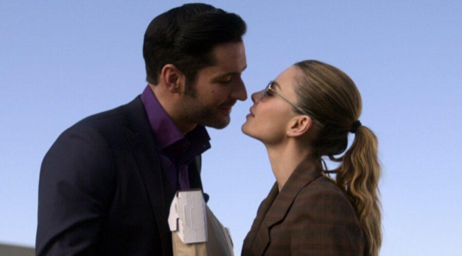Tom Ellis E Lauren German In Lucifer 5b. Credits: Netflix Via Twitter Profilo Ufficiale @NetflixIT