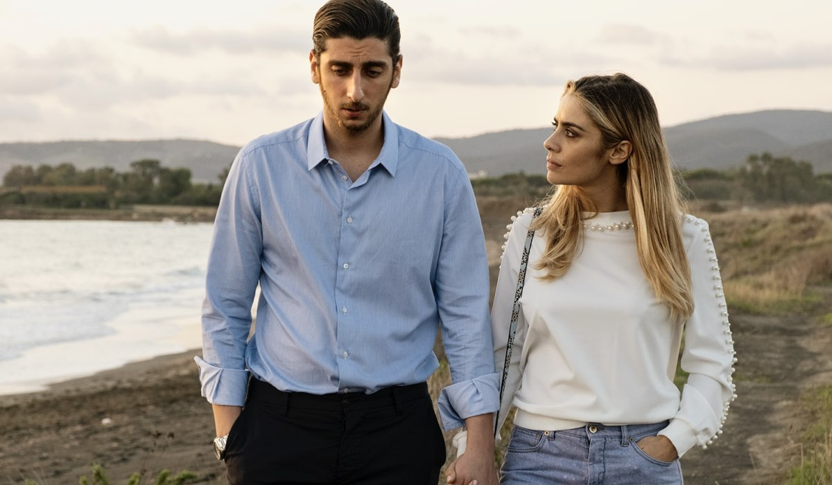 Totti ( Pietro Castellitto) e Ilary (Greta Scarano) In Speravo De Mori Prima Credits: Iacovelli-Zayed/Sky