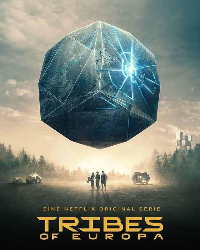 La locandina di Tribes of Europa. Credits: Netflix.