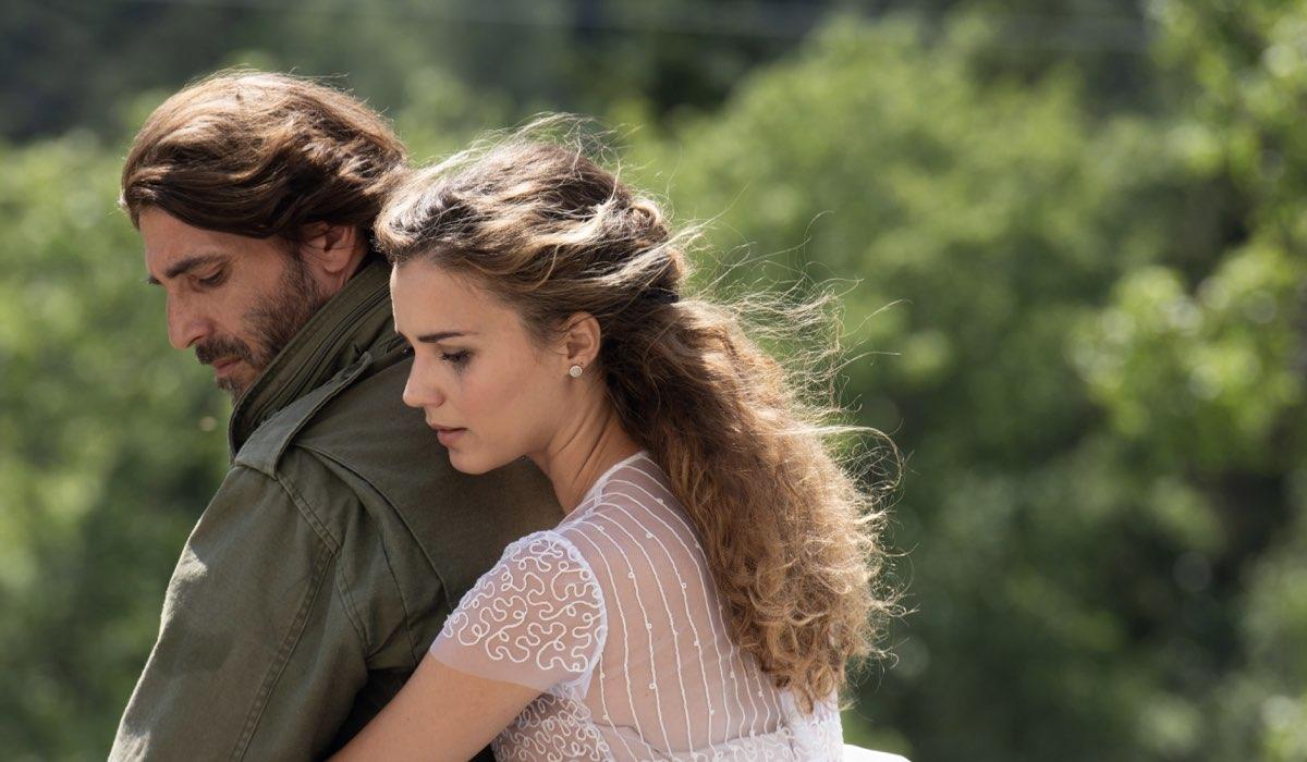 Un Passo Dal Cielo 6 I Guardiani Prima Puntata: Daniele Liotti e Giusy Buscemi interpretano Francesco Neri e Manuela Nappi. Credits Rai