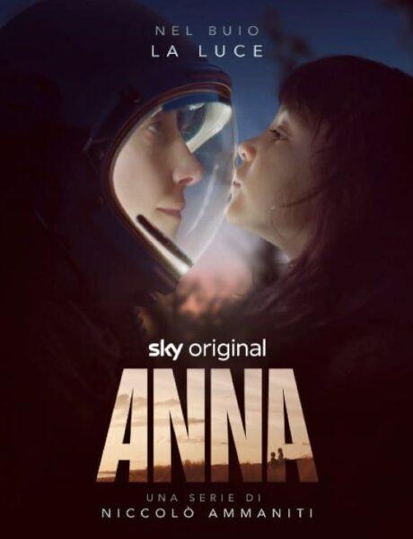 Poster di Anna, la serie. Credits: Sky.