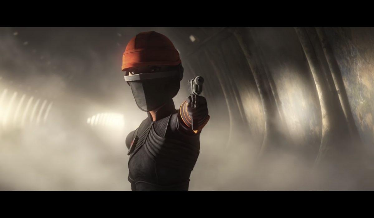 "Ecco Fennec Shand: la cacciatrice di taglie sarà in ""The Bad Batch"". Credits: Lucasfilm/Disney."