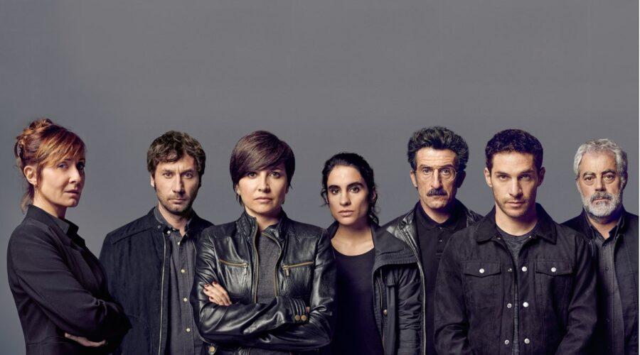 Protagonisti di La Unidad, la serie tv su Rai 4. Credits: Movistar.
