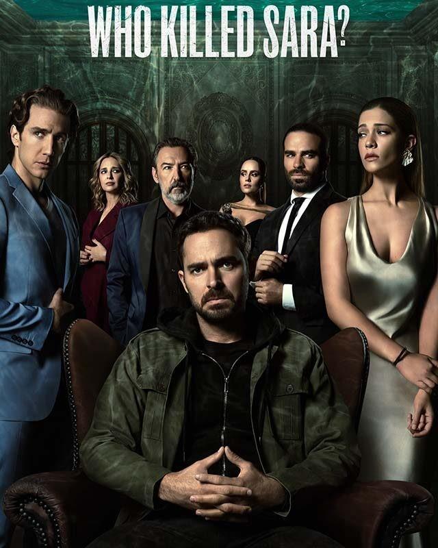 La locandina della serie TV Che fine ha fatto Sara? Credits: Netflix.