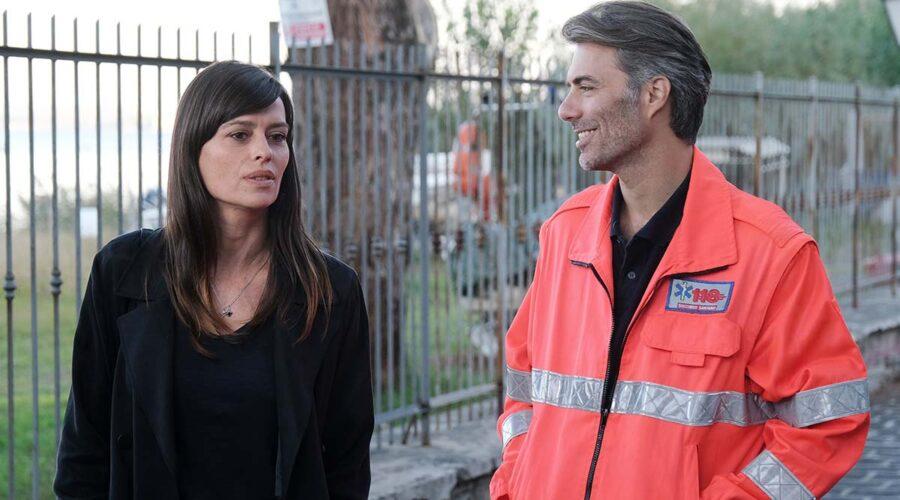 Claudia Pandolfi e Alessandro Riceci in Chiamami ancora amore. Credits: Fabrizio de Blasio e Rai.